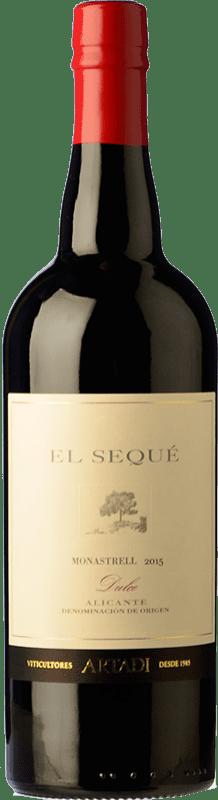 29,95 € Envío gratis | Vino tinto El Sequé by Artadi Dulce D.O. Alicante España Syrah, Monastrell Botella 75 cl