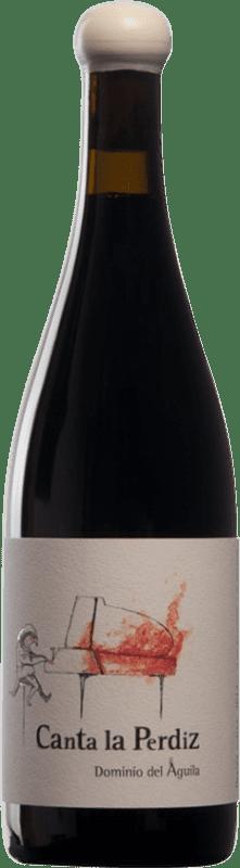 292,95 € Envío gratis | Vino tinto Dominio del Águila Canta la Perdiz D.O. Ribera del Duero Castilla y León España Tempranillo, Cariñena, Doña Blanca Botella 75 cl