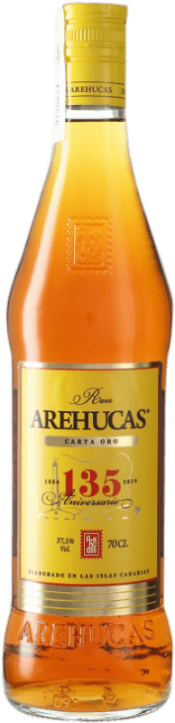 13,95 € | Rum Arehucas Carta Oro Canary Islands Spain Bottle 70 cl