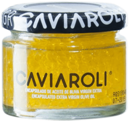 11,95 € Free Shipping | Conservas Vegetales Caviaroli Caviar de Aceite de Oliva Virgen Extra Encapsulado Spain