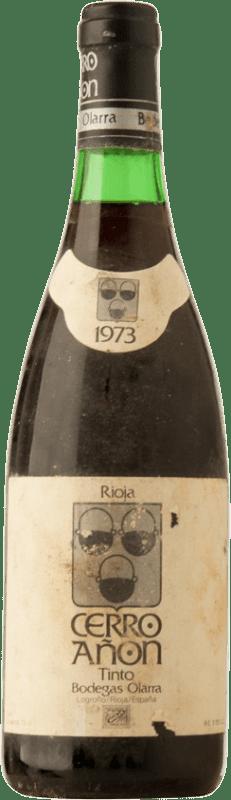 38,95 € Envoi gratuit | Vin rouge Olarra Cerro Añón Crianza D.O.Ca. Rioja Espagne Tempranillo, Graciano, Mazuelo Bouteille 72 cl