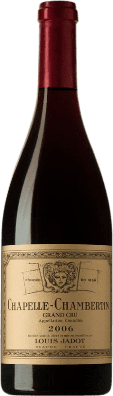 223,95 € | Red wine Louis Jadot Chapelle Grand Cru 2006 A.O.C. Chambertin Burgundy France Pinot Black Bottle 75 cl