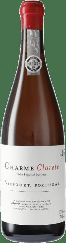 43,95 € Envío gratis | Vino rosado Niepoort Charme Clarete I.G. Douro Douro Portugal Botella 75 cl