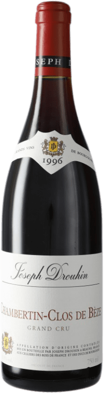 732,95 € Free Shipping | Red wine Drouhin Clos de Bèze Grand Cru 1996 A.O.C. Chambertin Burgundy France Pinot Black Bottle 75 cl