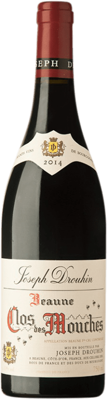 115,95 € Free Shipping | Red wine Drouhin Clos des Mouches Rouge A.O.C. Côte de Beaune Burgundy France Pinot Black Bottle 75 cl