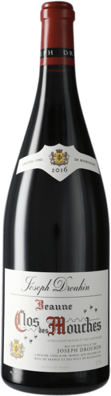 264,95 € Free Shipping | Red wine Drouhin Clos Des Mouches Rouge A.O.C. Côte de Beaune Burgundy France Pinot Black Magnum Bottle 1,5 L