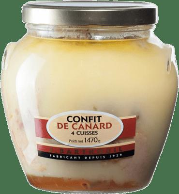 29,95 € Envío gratis   Foie y Patés J. Barthouil Confit de Canard 4 Cuisses Francia