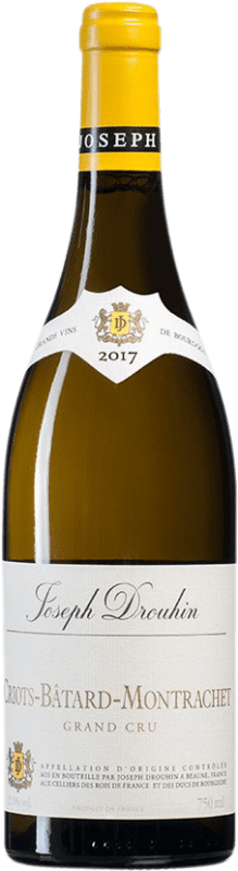 429,95 € Free Shipping | White wine Drouhin Criots Grand Cru A.O.C. Bâtard-Montrachet Burgundy France Chardonnay Bottle 75 cl