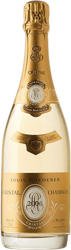 698,95 € Free Shipping | White sparkling Louis Roederer Cristal Brut 2006 A.O.C. Champagne Champagne France Pinot Black, Chardonnay Magnum Bottle 1,5 L