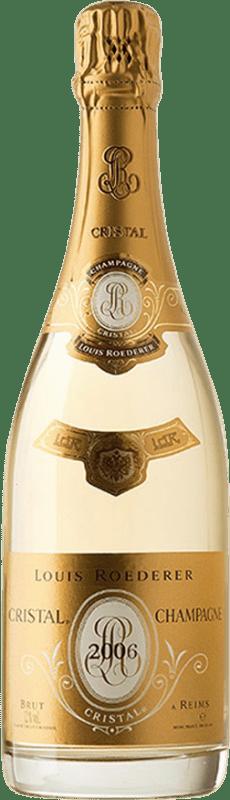 698,95 € | White sparkling Louis Roederer Cristal Brut 2006 A.O.C. Champagne Champagne France Pinot Black, Chardonnay Magnum Bottle 1,5 L