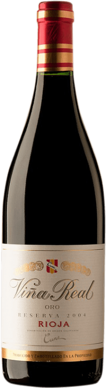 33,95 € Free Shipping | Red wine Norte de España - CVNE Cune Viña Real Reserva D.O.Ca. Rioja Spain Bottle 75 cl