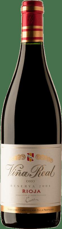 33,95 € Envío gratis | Vino tinto Norte de España - CVNE Cune Viña Real Reserva D.O.Ca. Rioja España Botella 75 cl