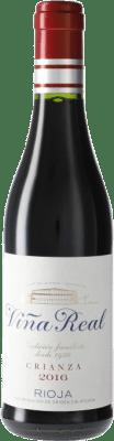 5,95 € Envío gratis | Vino tinto Norte de España - CVNE Cune Viña Real Crianza D.O.Ca. Rioja España Media Botella 37 cl