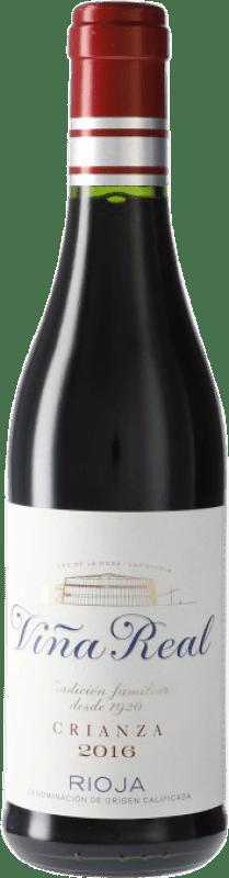 5,95 € Free Shipping | Red wine Norte de España - CVNE Cune Viña Real Crianza D.O.Ca. Rioja Spain Half Bottle 37 cl