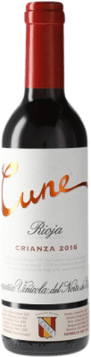 4,95 € Free Shipping | Red wine Norte de España - CVNE Cune Crianza D.O.Ca. Rioja Spain Half Bottle 37 cl