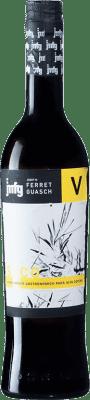 6,95 € Envío gratis | Vinagre Ferret Guasch de Cava Seco España Botella Medium 50 cl