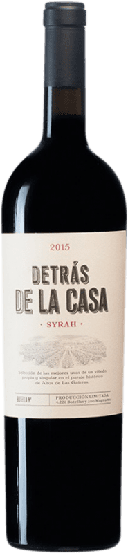 28,95 € | Red wine Castaño Detrás de la Casa D.O. Yecla Spain Syrah Magnum Bottle 1,5 L