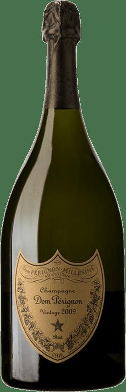559,95 € | White sparkling Moët & Chandon Dom Pérignon 2009 A.O.C. Champagne Champagne France Pinot Black, Chardonnay Magnum Bottle 1,5 L