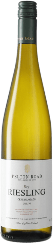 34,95 € Free Shipping | White wine Felton Road Dry I.G. Central Otago Central Otago New Zealand Riesling Bottle 75 cl