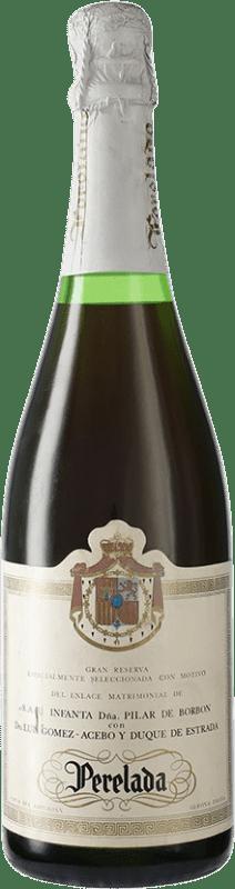 143,95 € | White sparkling Perelada Edición Especial Pilar de Borbon & G. Acebo D.O. Cava Spain Bottle 75 cl