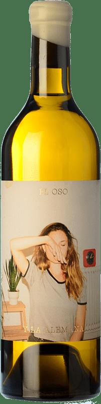 9,95 € Envío gratis | Vino blanco Máquina & Tabla El Oso y La Alemana D.O. Toro Castilla y León España Malvasía, Verdejo Botella 75 cl