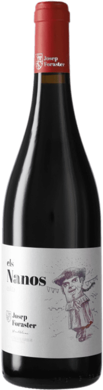6,95 € Free Shipping | Red wine Josep Foraster Els Nanos Collita D.O. Conca de Barberà Catalonia Spain Tempranillo, Cabernet Sauvignon, Trepat Bottle 75 cl