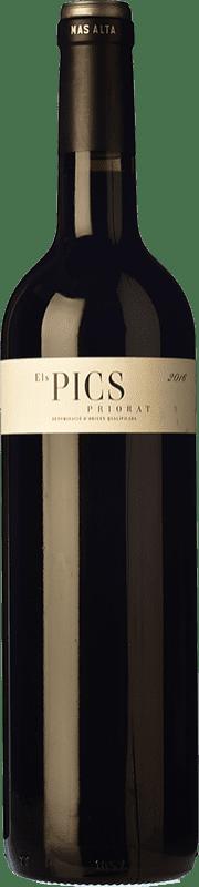 39,95 € Envío gratis | Vino tinto Mas Alta Els Pics D.O.Ca. Priorat Cataluña España Botella Mágnum 1,5 L