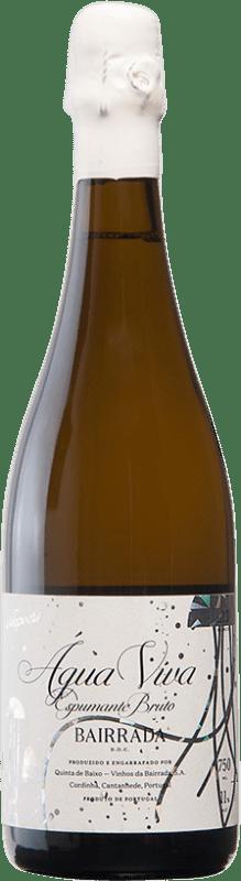 24,95 € Free Shipping | White sparkling Niepoort Espumante Água Viva I.G. Dão Dão Portugal Chardonnay, Cercial, Bical Bottle 75 cl