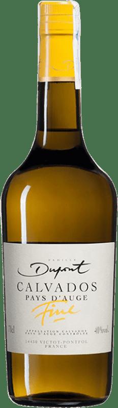 37,95 € Envío gratis | Calvados Domaine Dupont Fine I.G.P. Calvados Pays d'Auge Francia Botella 70 cl