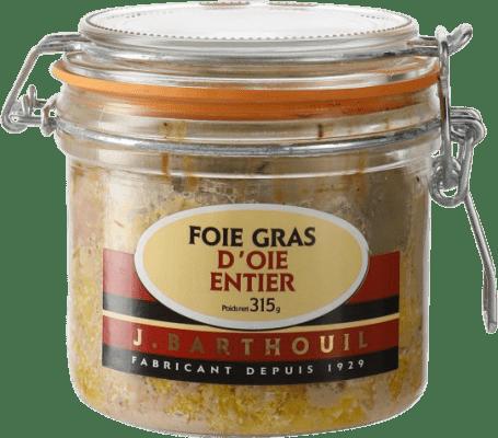 89,95 € Free Shipping | Foie y Patés J. Barthouil Foie Gras d'Oie Entier France