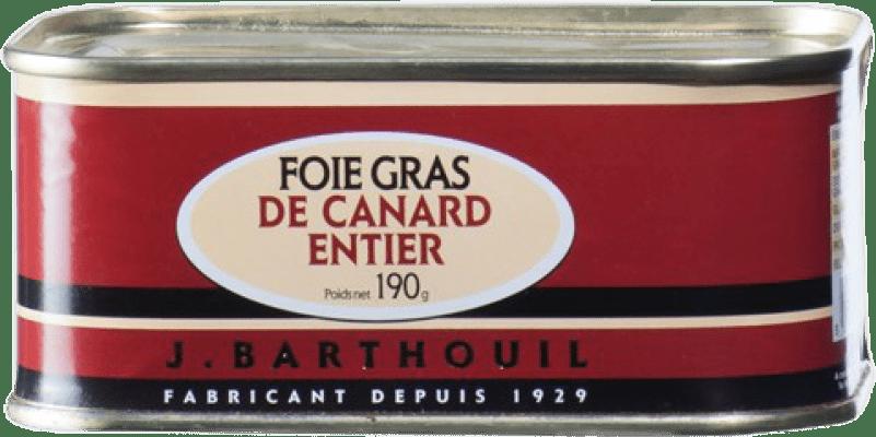 31,95 € Free Shipping | Foie y Patés J. Barthouil Foie Grass de Canard Entier France