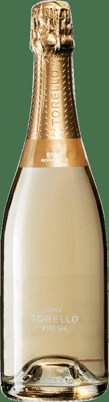 14,95 € Free Shipping   White sparkling Torelló Fresh Brut Reserva D.O. Cava Spain Bottle 75 cl