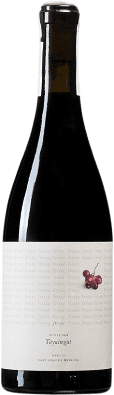 9,95 € | Red wine Tayaimgut Frssc D.O. Penedès Catalonia Spain Merlot Bottle 75 cl