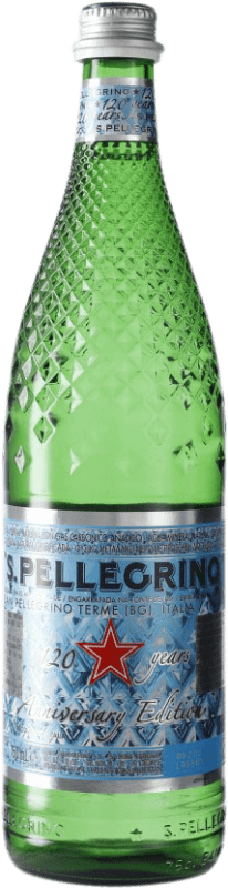 2,95 € | Water San Pellegrino Gas Sparkling Italy Bottle 75 cl