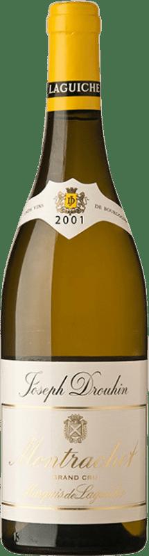 556,95 €   White wine Drouhin Grand Cru Marquis de Laguiche 2001 A.O.C. Montrachet Burgundy France Chardonnay Bottle 75 cl
