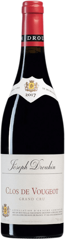 314,95 € Free Shipping | Red wine Drouhin Grand Cru A.O.C. Clos de Vougeot Burgundy France Pinot Black Bottle 75 cl