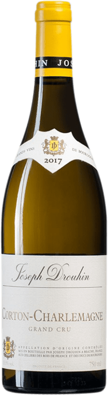 193,95 € Free Shipping | White wine Drouhin Grand Cru A.O.C. Corton-Charlemagne Burgundy France Chardonnay Bottle 75 cl