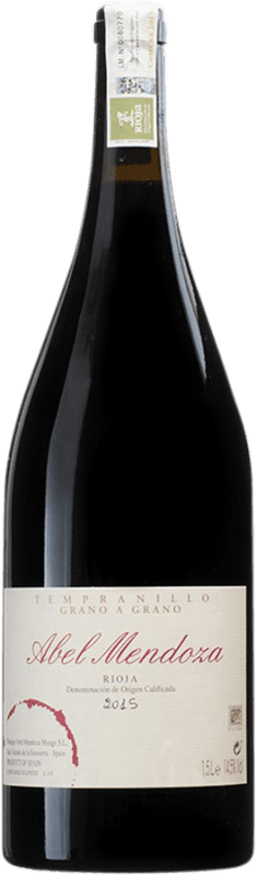 104,95 € Envoi gratuit | Vin rouge Abel Mendoza Grano a Grano D.O.Ca. Rioja Espagne Tempranillo Bouteille Magnum 1,5 L