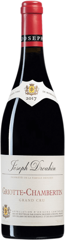 545,95 € Free Shipping | Red wine Drouhin Griotte Grand Cru A.O.C. Chambertin Burgundy France Pinot Black Bottle 75 cl