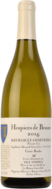 159,95 € Free Shipping   White wine Louis Jadot Hospices de Beaune 1er Cru Genevrières Cuvée Baudot A.O.C. Meursault Burgundy France Chardonnay Bottle 75 cl