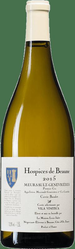 505,95 € Free Shipping   White wine Louis Jadot Hospices de Beaune 1er Cru Genevrières Cuvée Baudot A.O.C. Meursault Burgundy France Chardonnay Magnum Bottle 1,5 L