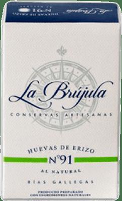 26,95 € | Conservas de Marisco La Brújula Huevas de Erizo al Natural Spain