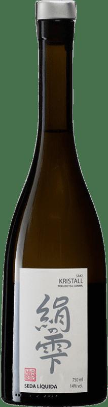 31,95 € Envío gratis | Sake Seda Líquida Kristall España Botella 70 cl