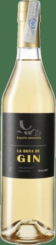 59,95 € Envío gratis | Ginebra Equipo Navazos La Bota Nº 87 Gin Single Cask España Botella 70 cl