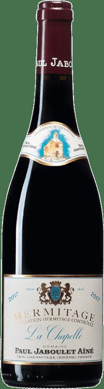 319,95 € Envío gratis | Vino tinto Jaboulet Aîné La Chapelle A.O.C. Hermitage Francia Syrah Botella 75 cl