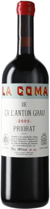 99,95 € | Red wine Cims de Porrera La Coma de Ca l'Anton Grau 2005 D.O.Ca. Priorat Catalonia Spain Carignan Bottle 75 cl