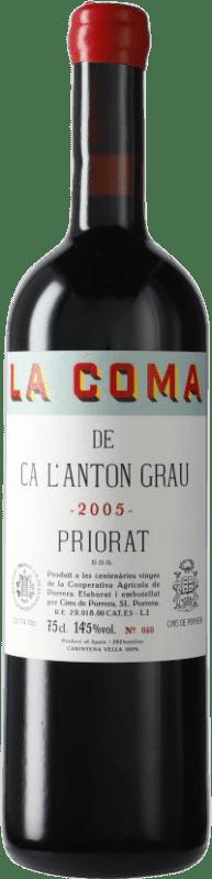 83,95 € Free Shipping   Red wine Finques Cims de Porrera La Coma de Ca l'Anton Grau 2005 D.O.Ca. Priorat Catalonia Spain Carignan Bottle 75 cl