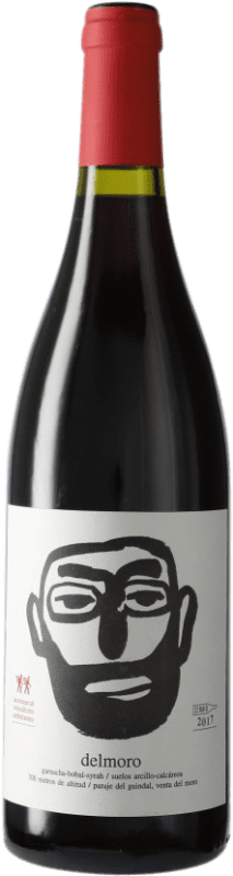 9,95 € Envío gratis | Vino tinto Javi Revert La Comarcal Delmoro D.O. Valencia Comunidad Valenciana España Moristel Botella 75 cl