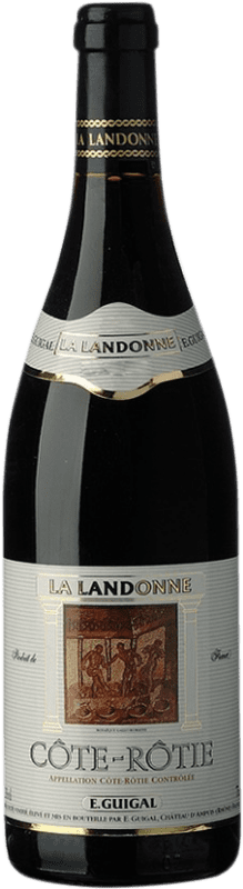 826,95 € Free Shipping | Red wine Domaine E. Guigal La Landonne 1989 A.O.C. Côte-Rôtie France Syrah Bottle 75 cl