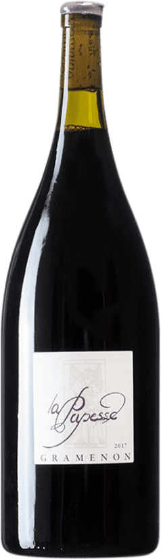 66,95 € Free Shipping | Red wine Domaine Gramenon La Papesse A.O.C. Côtes du Rhône France Grenache Magnum Bottle 1,5 L